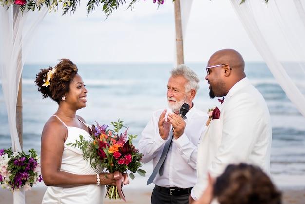 Gelukkige bruid a