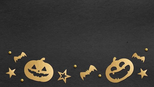 Gelukkige halloween-dagachtergrond