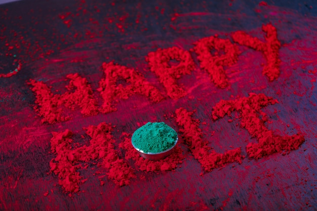 Gelukkige holi, indian festival