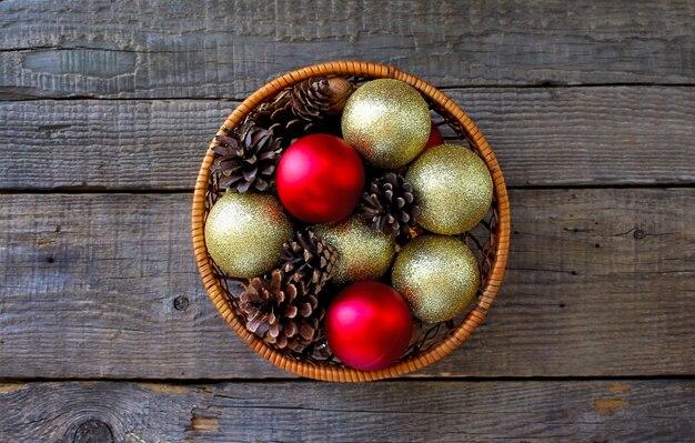 Gelukkige magische nieuwe het jaarplattelander van vakantie vrolijke kerstmis