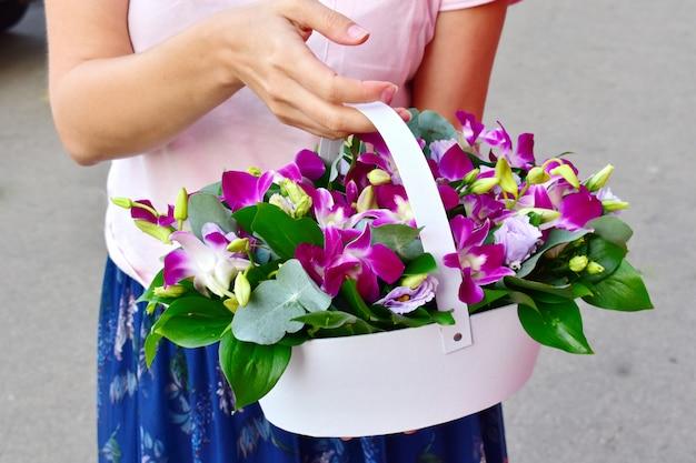 Gelukkige moederdag. floral vakantie samenstelling.