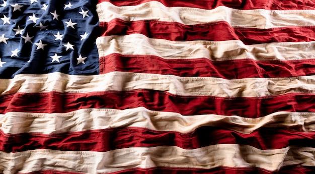 Gelukkige onafhankelijkheidsdag. amerikaanse vlaggen, 4 juli.
