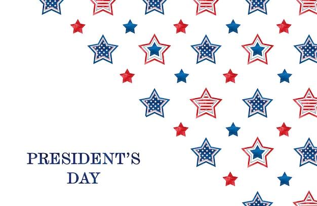 Gelukkige presidentendag. felicitatie inscriptie voor de vakantie. close-up, geen mensen. gefeliciteerd voor familie, familieleden, vrienden en collega's