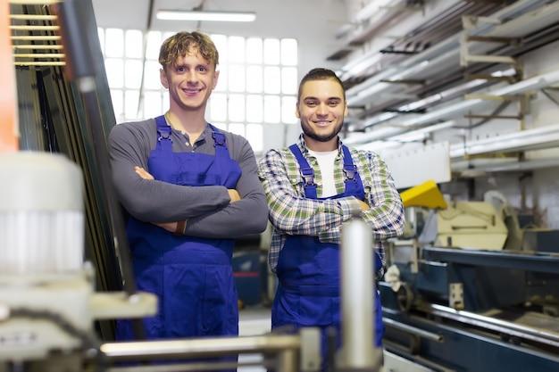 Gelukkige professionele werknemers