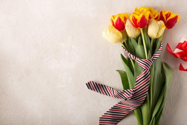 Gelukkige vaderdagachtergrond of kaart. kopieer ruimte voor inschrijving. happy valentine's day achtergrond.