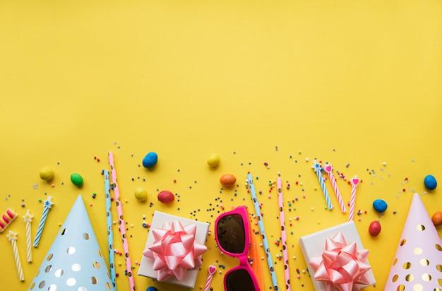 Gelukkige verjaardag of feest achtergrond