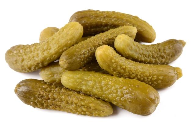 Gemarineerde komkommers