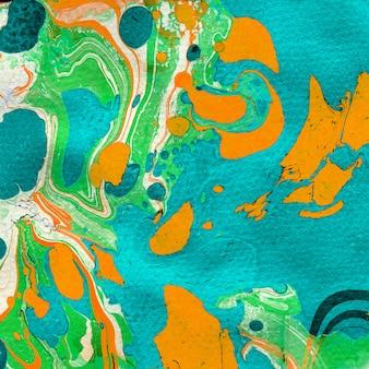 Gemarmerde textuur. creatieve achtergrond uit de vrije hand. ontwerp met marmerprint