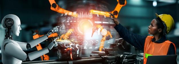 Gemechaniseerde industrie in fabrieksproductie