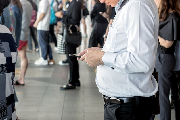 Gemeenschapsgeneratie met mobiele telefoon