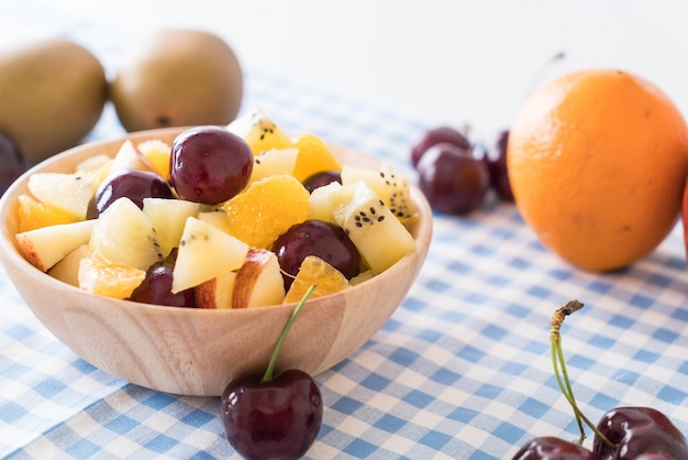 Gemengd gesneden fruit
