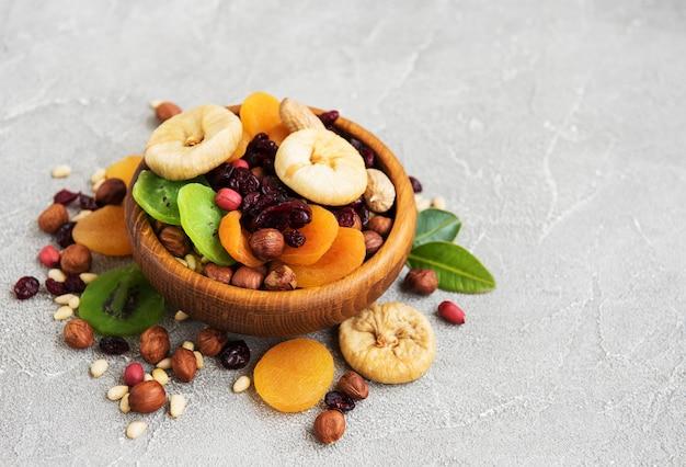Gemengde gedroogde vruchten