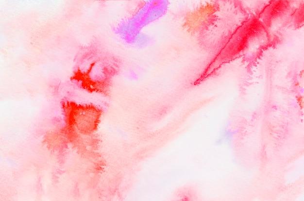 Gemengde heldere aquarel textuur achtergrond
