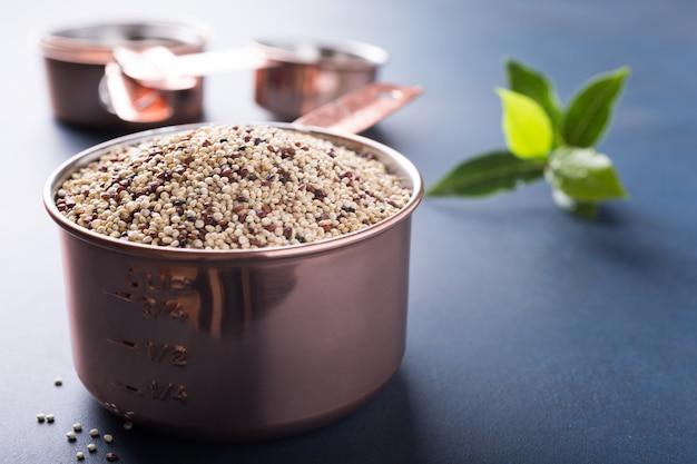 Gemengde rauwe quinoa