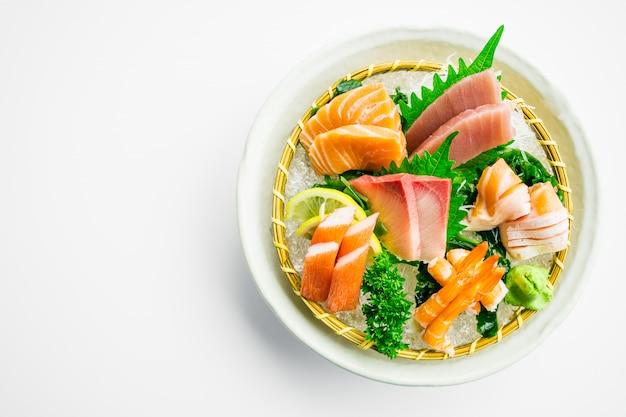 Gemengde sashimi-set