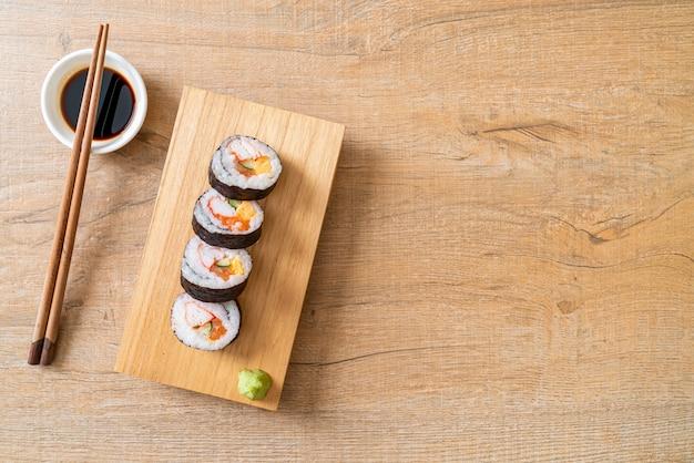 Gemengde sushi roll makis