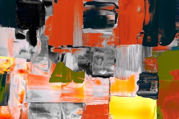 Gemengde verf achtergrondbehang, abstracte getextureerde kunst