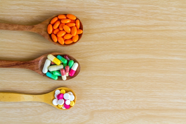 Geneeskunde pil en capsule