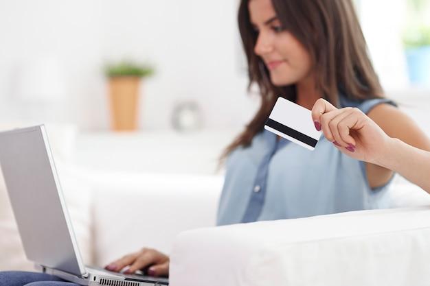 Genieten van de vrijheid van mijn creditcard