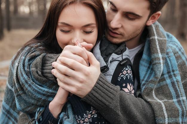 Genieten van knuffels