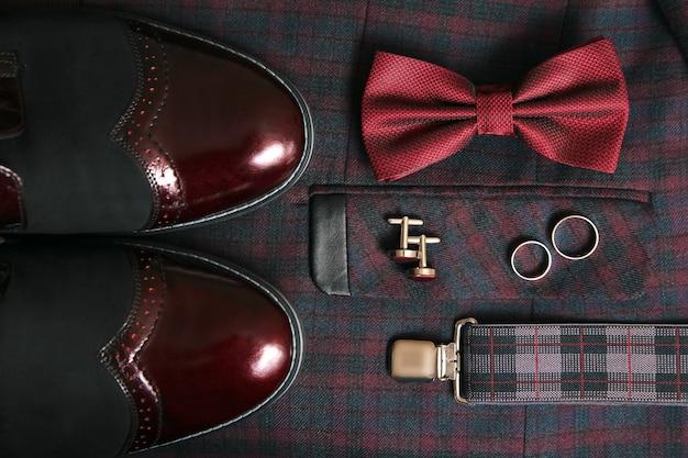 Gentleman's bruidegom accessoires