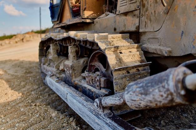 Geologie bulldozer graafmachine bouwindustrie