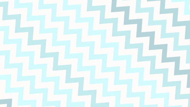 Geometrisch abstracte blauwe zigzag, eenvoudige achtergrond. elegante en platte 3d-illustratiestijl voor zakelijke en zakelijke sjabloon