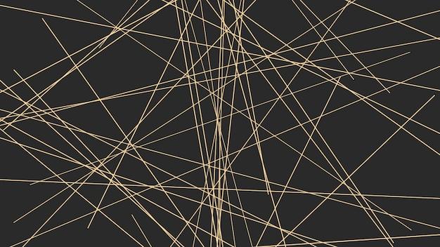 Geometrisch abstracte gouden lijnen, eenvoudige achtergrond. elegante en platte 3d-illustratiestijl voor zakelijke en zakelijke sjabloon
