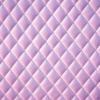 Geometrisch diamant achtergrond gewatteerd pu-leer in neonlicht