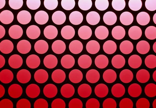 Geometrisch patroon van het liftplafond in rode en zwarte kleur