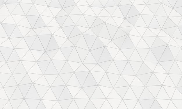 Geometrische achtergrond met driehoekige cellen.