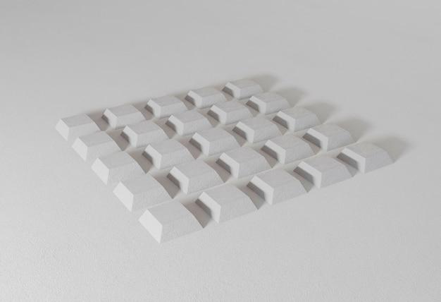 Geometrische achtergrond met minimalistische vormen