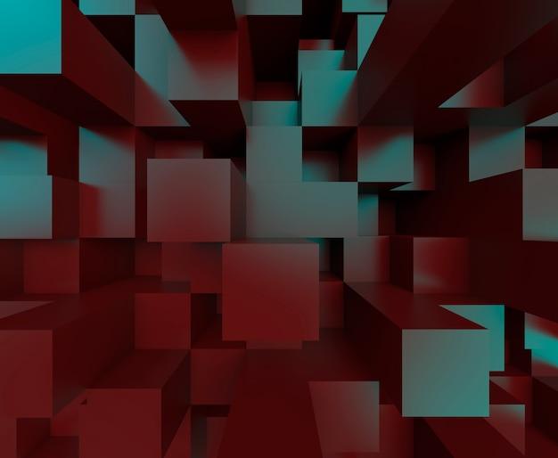 Geometrische achtergrondillustratie en tektonische moderne duidelijke wallpaper