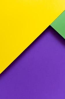 Geometrische minimalistische heldere kleurenachtergrond