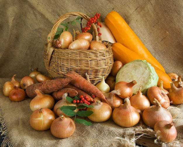 Geoogste groenten