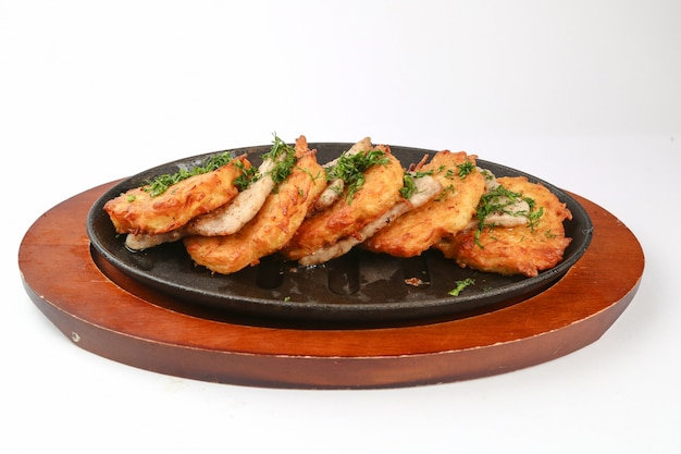 Gepaneerde kip