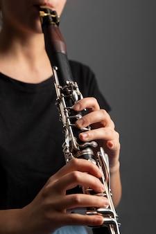 Gepassioneerde muzikant die jazzdag viert