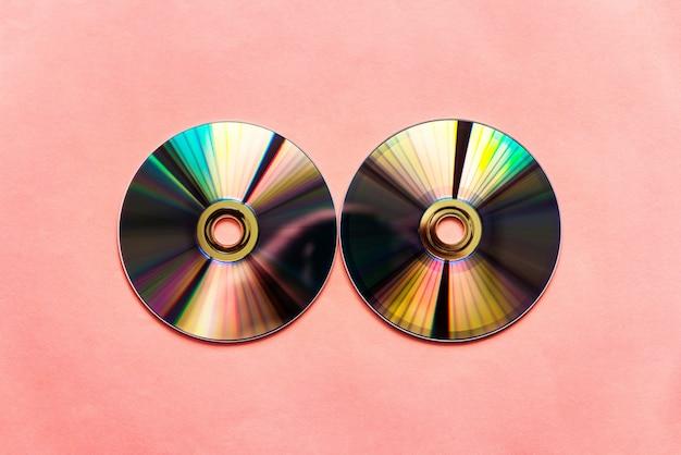 Gereflecteerde compact discs