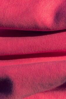 Gerimpeld overhemd zachtroze stof