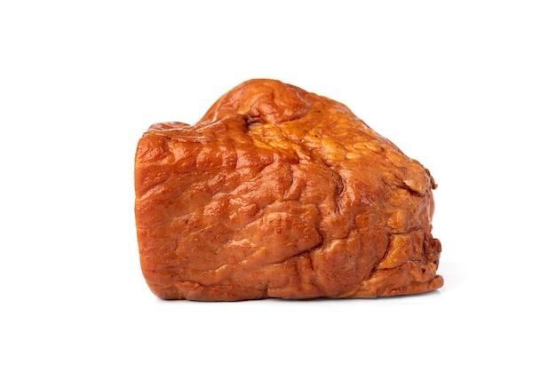 Gerookt geïsoleerd varkensvlees.
