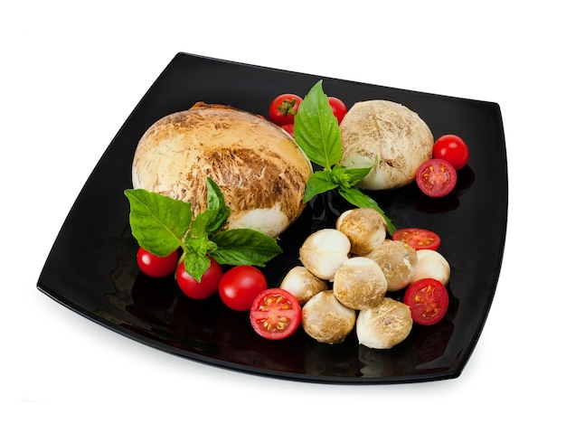 Gerookte provola di bufala, typisch zuivelproduct uit de regio campanië in zuid-italië.