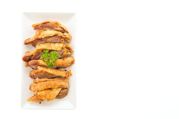 Geroosterd knapperig varkensvlees cooking cuisine