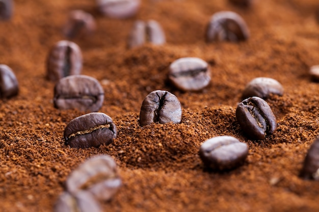 Geroosterde koffie