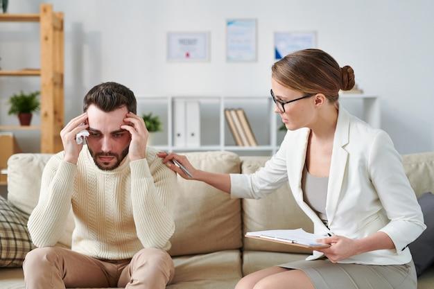 Geruststellende patiënt
