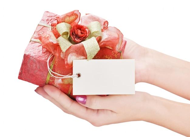 Geschenk in een mooie doos