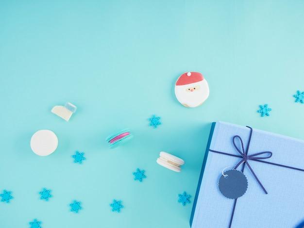 Geschenkdoos en kerstversiering