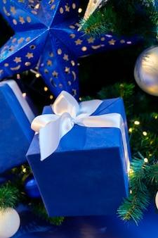 Geschenkdoos. kerstboom