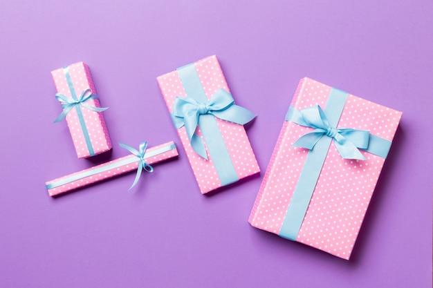 Geschenkdoos met mooi inpakpapier