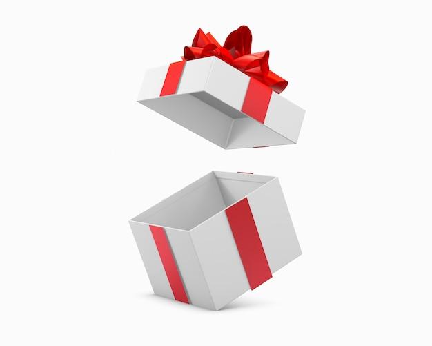 Geschenkdoos of aanwezig geïsoleerd