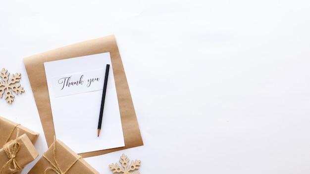 Geschenkdozen decoratie notitieboekje met een boodschap